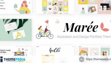 Marée – Illustration and Design Portfolio Theme [Free download]