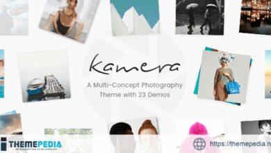 Kamera – Multi-Concept Photography Theme [Free download]