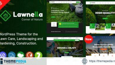 Lawnella – Gardening & Landscaping WordPress Theme [Free download]