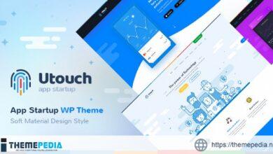 Utouch – Multi-Purpose Business and Digital Technology WordPress Theme [Free download]