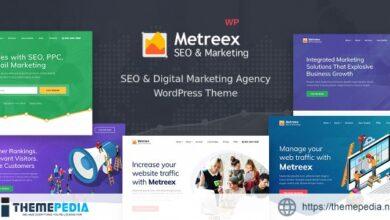 Metreex – SEO Marketing WordPress Theme [Latest Version]