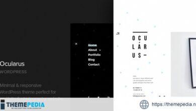 Ocularus – Minimal Photography WordPress Theme [Latest Version]