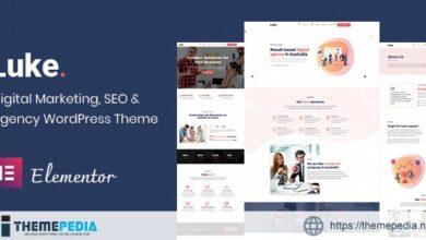 Luke – Digital Marketing and SEO WordPress Theme [Free download]