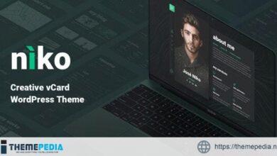 Niko – Resume-CV [Free download]