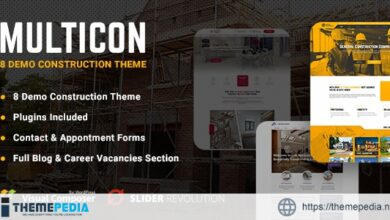 Multicon – Multi-Purpose Construction Industry Theme [Free download]