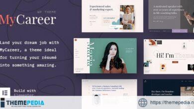 MyCareer – Resume WordPress Theme [Free download]