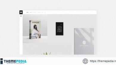 Murbani – Minimal Portfolio WordPress Theme [Free download]