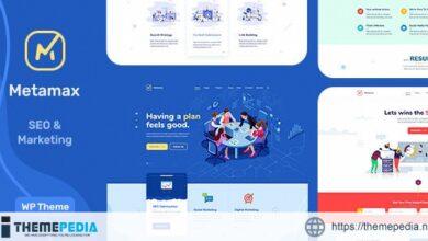 MetaMax – SEO and Marketing WordPress Theme [Free download]
