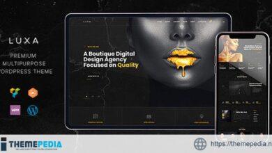 Luxa – Luxury Black MultiPurpose WordPress Theme [Free download]