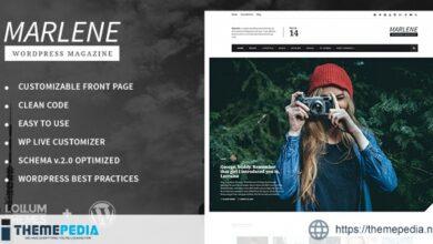 Marlene – Magazine and Personal Blog WordPress Theme [Free download]