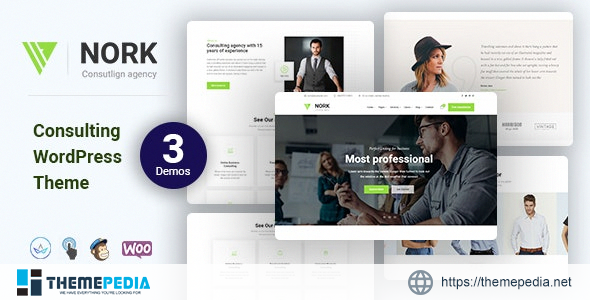 Nork – Business, Consulting WordPress Theme [Free download]