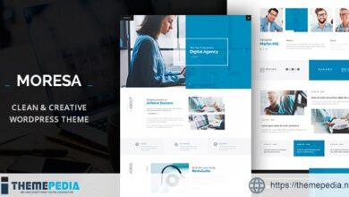 Moresa – Startup Agency Theme [Free download]