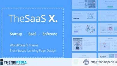TheSaaS X – Responsive SaaS, Startup & Business WordPress Theme [Updated Version]