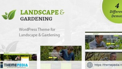 Landscape – WordPress Theme for Gardening & Landscaping [Free download]