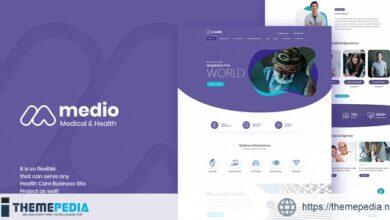 Medio – Medical Organization WordPress Theme [nulled]
