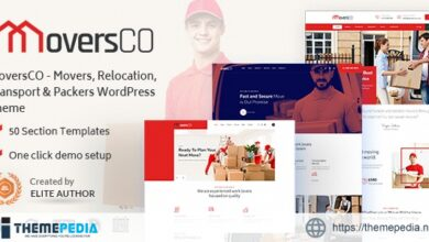MoversCO – Movers & Packers WordPress Theme [Free download]