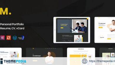 Mak – Personal Portfolio & Resume WordPress Theme [Updated Version]