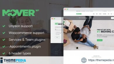 Mover – Moving Company & Storage Services WordPress Theme [Free download]