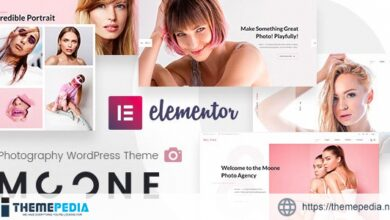 Moone – Photography Agency [Updated Version]
