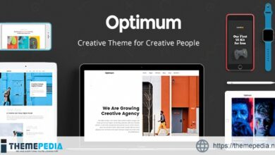 Optimum – Theme for Creative People [Free download]