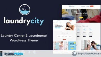 Laundry City – Dry Cleaning Services WordPress Theme [Updated Version]