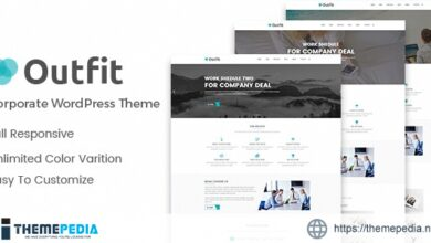 Outfit – Business, Consultancy Corporate WordPress Theme [Updated Version]