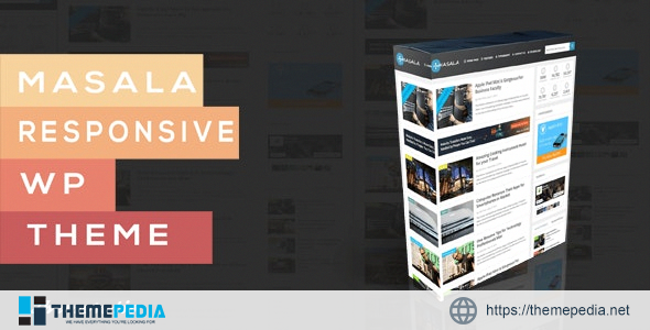 Masala – A Responsive WordPress Blog Theme [Free download]