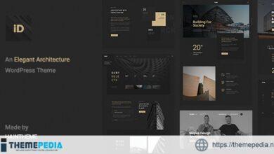 Insidect – Architecture & Interior WordPress Theme [Free download]