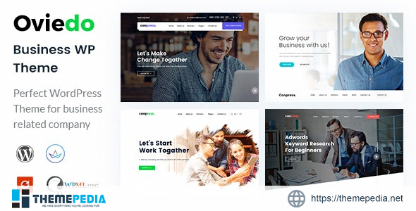 Oviedo- Multipurpose Business WordPress Theme [Free download]
