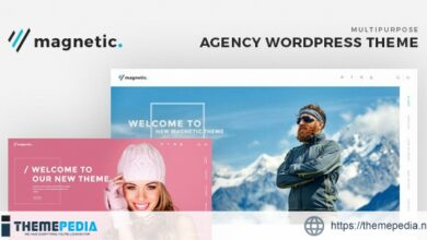 Magnetic – Agency WordPress Theme [Updated Version]