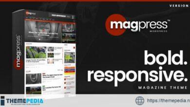 Magpress – Bold News & Magazine WordPress Theme [nulled]
