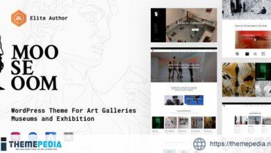 Mooseoom – Art Gallery, Museum & Exhibition WordPress [Free download]