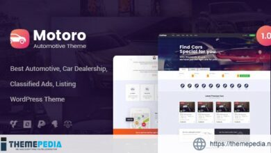 Motoro – Automotive Car Dealer WordPress Theme [Free download]