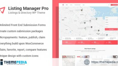 Listing Manager Pro – Directory Theme for WooCommerce [Free download]