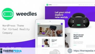 Weedles – Virtual Reality Landing Page & Store WordPress Theme [Updated Version]