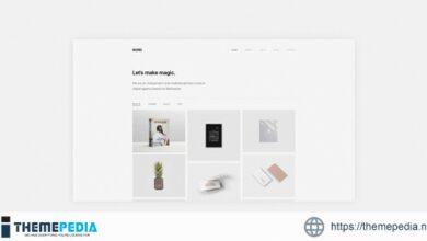 Nord – Minimal Portfolio WordPress Theme [Free download]