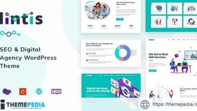 Lintis- SEO and Digital Agency WordPress Theme [Free download]