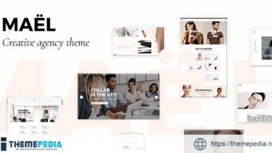 Maël – Modern Creative Agency Theme [Free download]