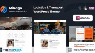 Mikago – Logistics & Transportation WordPress Theme [Free download]