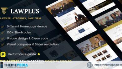 Law WordPress Theme – LawPlus [Free download]