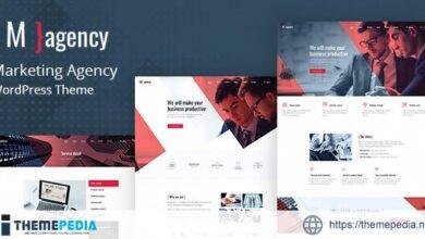 Magency – Marketing Company WordPress Theme [Free download]
