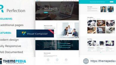 Perfection – Business Multipurpose WordPress Theme [Free download]