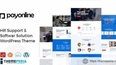Payonline – Online Payroll and HR Software WordPress Theme [Free download]