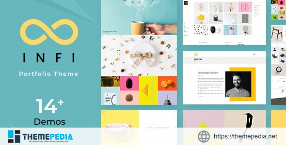 Infi – Design Portfolio [Free download]