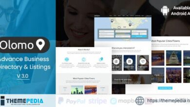 Olomo – Advance Business Directory & Listings WordPress Theme [nulled]