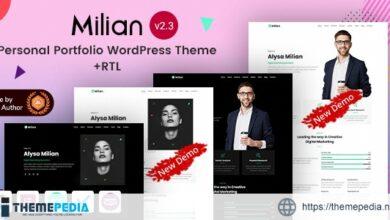Milian – Personal Portfolio Elementor WordPress [Free download]