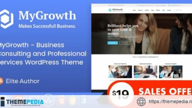 My Growth – Business Consulting and Professional Services WordPress Theme [Free download]