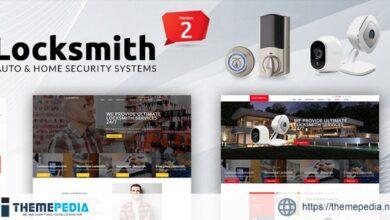 Locksmith – Security Systems WordPress Theme [Updated Version]