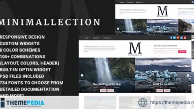 Minimallection – Responsive Minimal Blog Theme [Free download]