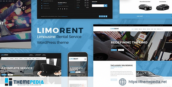Limo Rent – Limousine and Car Rent WordPress Theme [Updated Version]